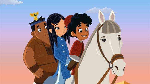 9585869edb Marco und seine Freunde sind auf der Flucht. Sie werden von Beduinen  verfolgt, die