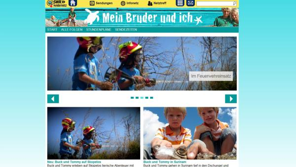 Screenshot - Kindernetz | Rechte: SWR