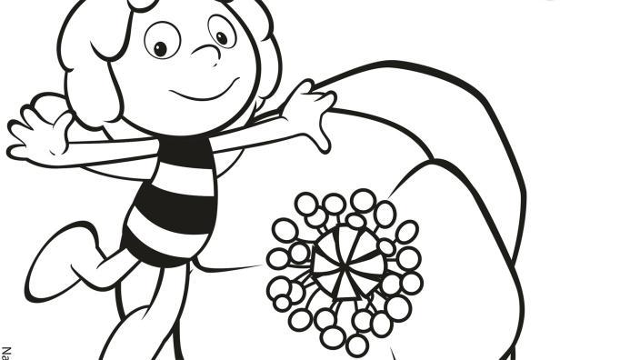 Kika Ausmalbilder Biene Maja