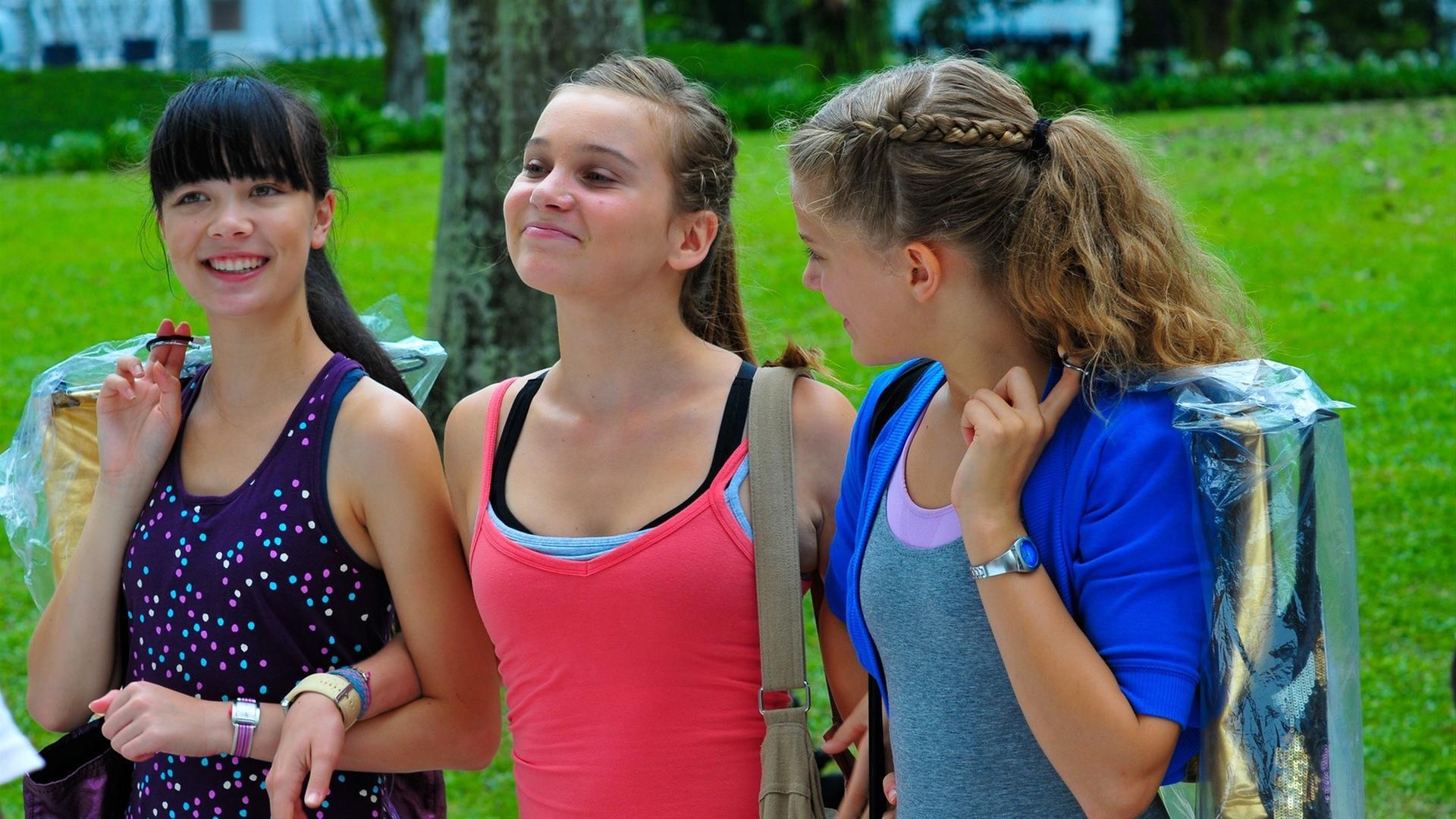 Mädchen aus chatraum