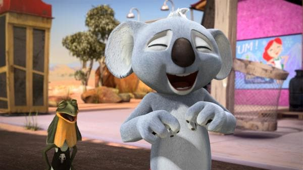 Blinky Bill mit Freund Jacko | Rechte: Studio 100 Media / Flying Bark