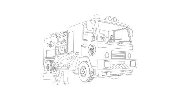 Malvorlagen Feuerwehrmann Sam Jupiter My Blog
