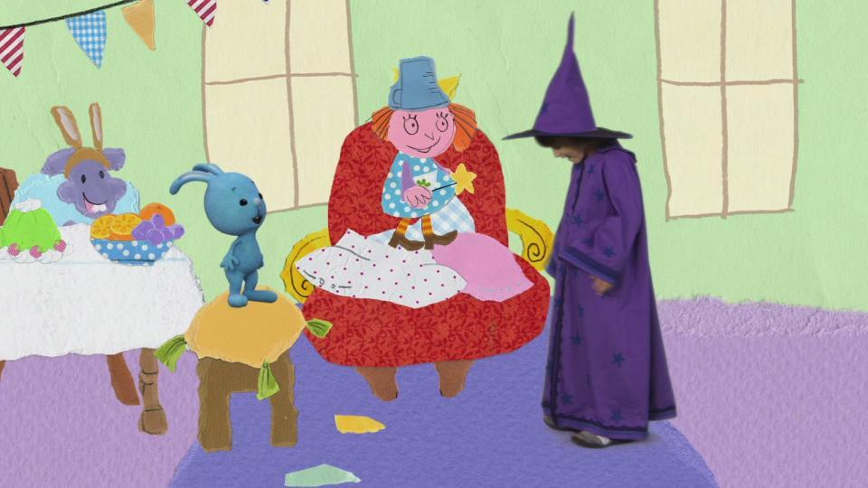 KiKA - Hexe Schnappelschnut zaubert für die Kostümparty