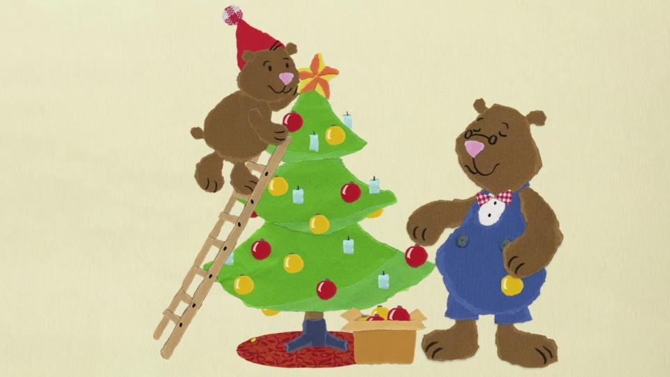 Der Weihnachtsbaum.Kika Bruno Und Der Weihnachtsbaum
