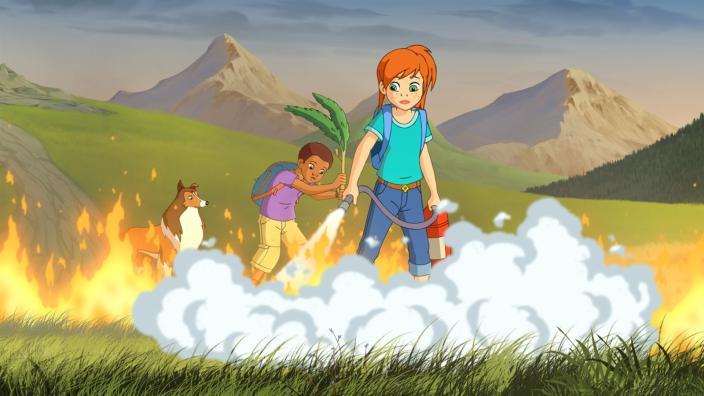 Kika 6 Der Waldbrand