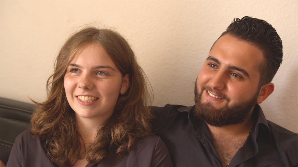 Seit 14 Monaten sind Malvina und Diaa ein Paar. | Rechte: hr