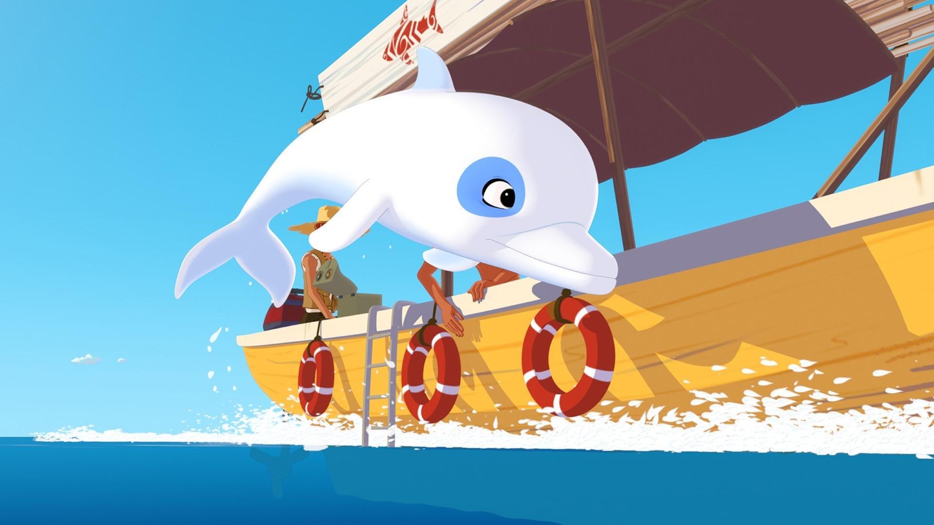 Kika Bildergalerie Zoom Der Weiße Delfin
