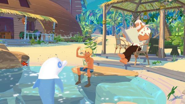 Kika Zoom Der Weiße Delfin